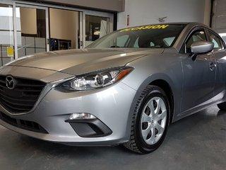 Mazda Mazda3 GX, DEMARREUR, BLUETOOTH, CAMERA, A/C, GR ELECTRI 2016