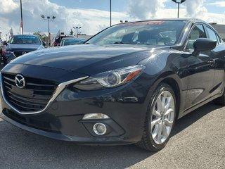 Mazda3 GT, NAVI, TOIT, DEMARREUR, SIEGES CHAUFFANTS, MAGS 2016