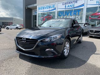 Mazda3 GS SIEGES CHAUFFANTS, CAMERA, BLUETOOTH, MAGS 2016