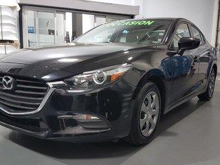 Mazda Mazda3 GX, A/C,  CAMERA, BLUETOOTH 2017