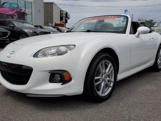 2013 Mazda MX-5 GX, DECAPOTABLE, REGULATEUR, MAGS, GR ELECTRIQUE