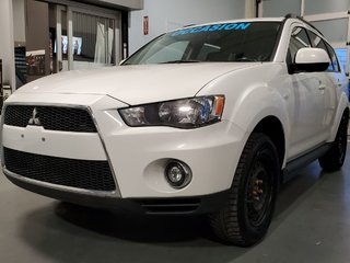 2012 Mitsubishi Outlander ES, AWD, DEMARREUR, SIEGES CHAUFFANTS, BLUETOOTH