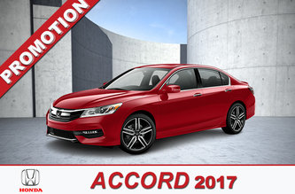 Promotion Accord 2017