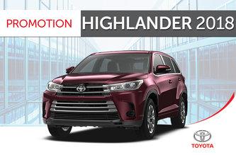 Highlander LE V6 FWD 2018