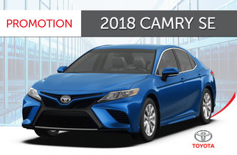 2018 Camry SE Standard Package