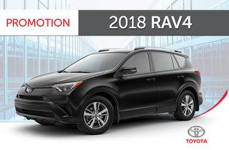 Toyota 2018 RAV4 AWD LE