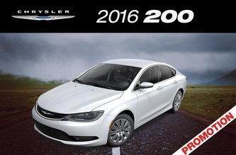 2016 Chyrsler 200 LX