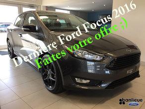 Dernière Ford Focus 2016