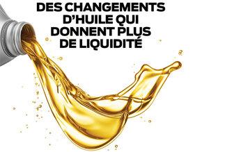 Changements d'huile