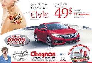 Promotion Civic Février 2017
