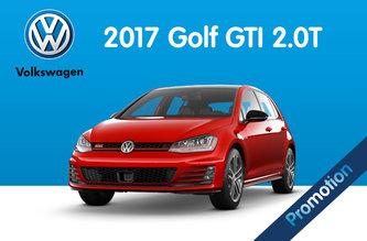2017 Golf GTI 2.0T