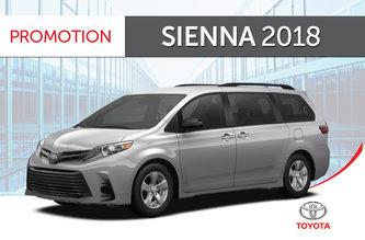 Toyota Sienna V6 7-PASS 8A 2018