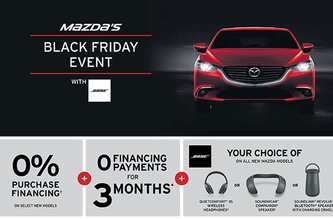 Mazda's Black Friday event