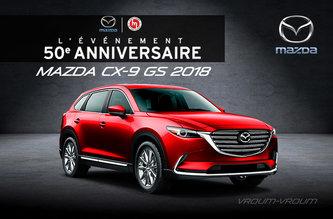 Mazda CX-9 GS 2018 - 7 passagers