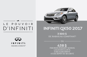 Infiniti QX50 2017