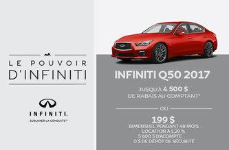Infiniti Q50 2017