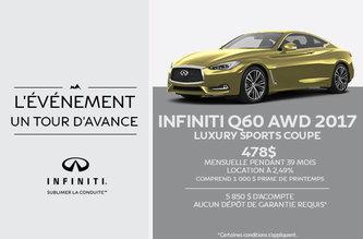 Infiniti Q60 2017