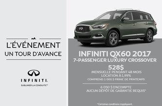 Infiniti QX60 2017