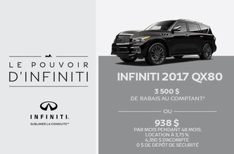 Infiniti QX80 2017