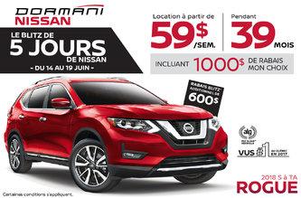 Le Blitz de 5 Jours de Nissan Rogue