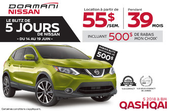 Le Blitz de 5 Jours de Nissan Qashqai