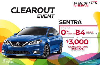 Sentra Clearout Event
