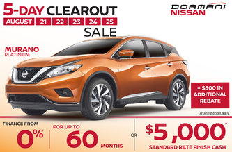 5-Day Clearout Sale - Murano