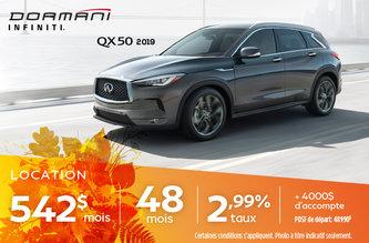 QX50 2019
