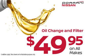 Oil Change Promotion