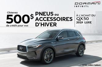 QX50 Luxe 2019