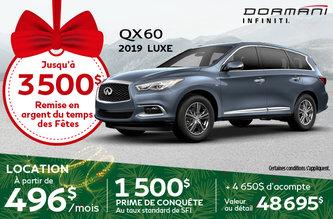 QX60 Luxe 2019