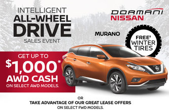 Murano INTELLIGENT ALL-WHEEL DRIVE SALES EVENT