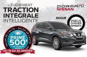 Prime du Salon de l'Auto pour le Rogue!
