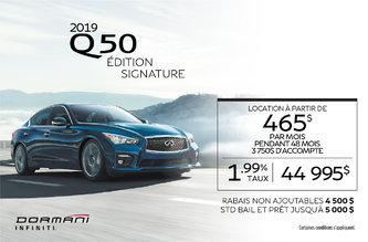 Q50 Édition Signature 2019