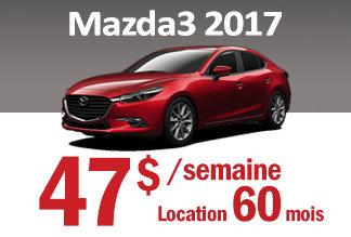 Mazda3 2017 - Promotion