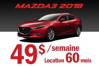 Mazda3 2018 - Promotion