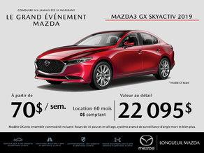Mazda3 2019 - Promotion