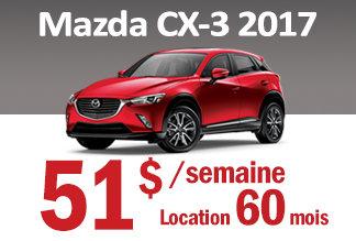 Mazda CX-3 2017 - Promotion