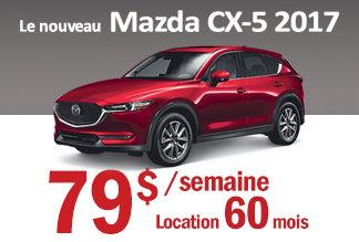 Mazda CX-5 2017 - Promotion