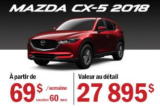 Mazda CX-5 2018 - Promotion