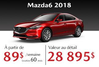 Mazda6 2018 - Promotion
