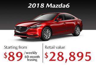 2018 Mazda6 - Promotion