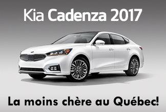 Kia Cadenza 2017 - Promotion