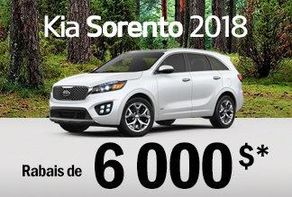 Sorento 2018 - Promotion