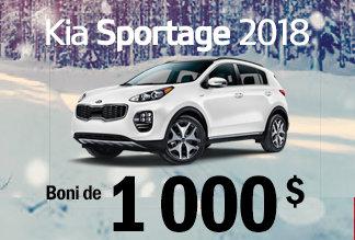 Sportage 2018 - Promotion