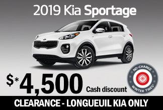 2019 Sportage - Promotion
