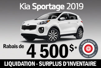 Sportage 2019 - Promotion