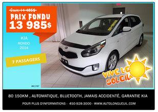 Kia Rondo 7 passagers 2014 - Promotion