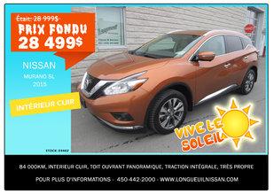 Nissan Murano SL 2015 - Promotion