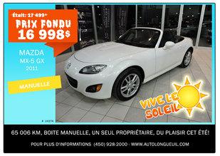 Mazda MX-5 GX 2011 - Promotion